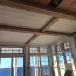 Antique reclaimed resawn white oak facings resawn from barn beams