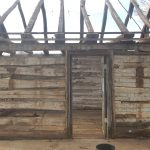 Antique reclaimed hand hewn beams and rafters