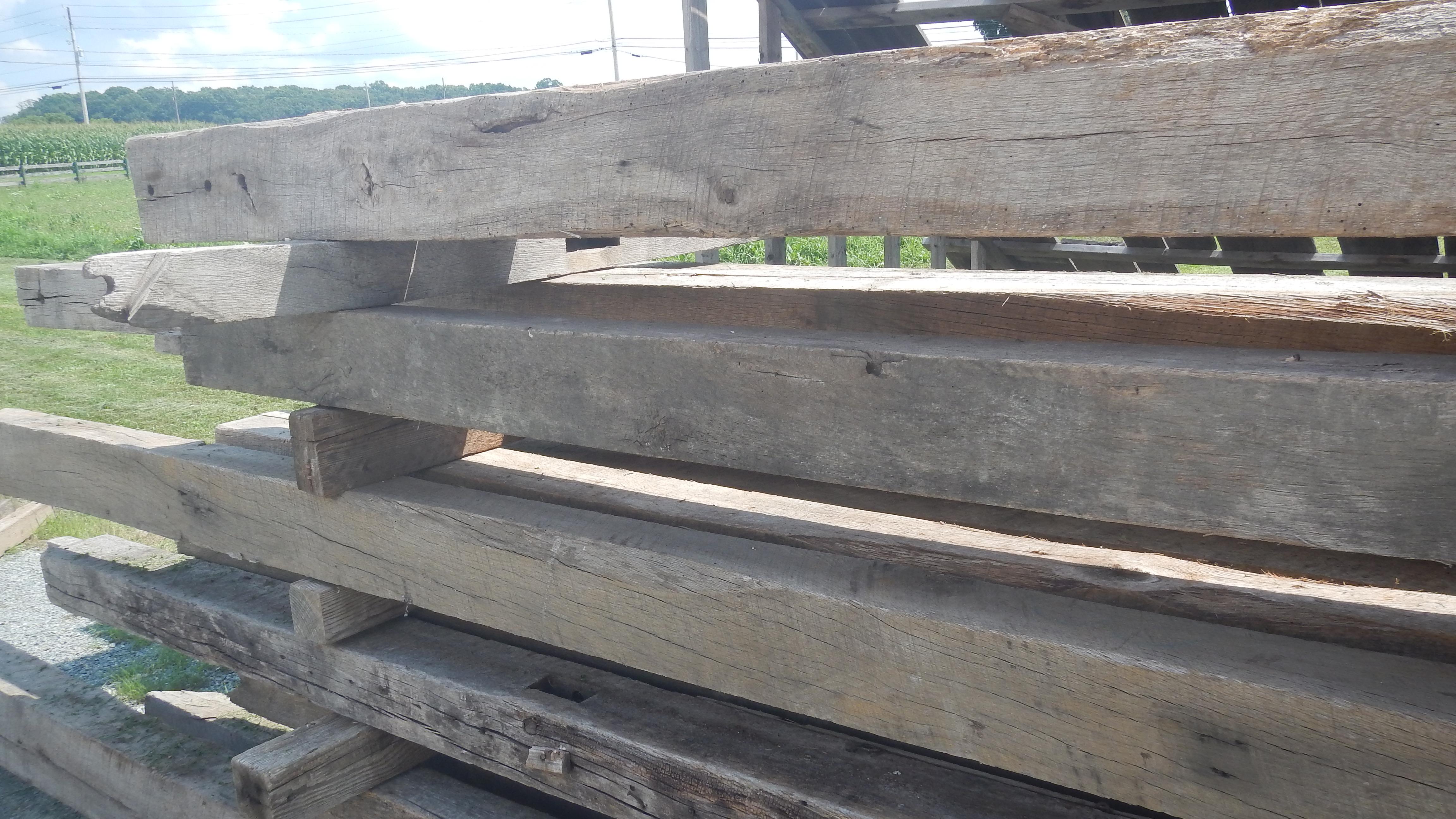 Reclaimed Beans, Mantels, and Facings - Tindalls Virgin Lumber