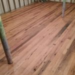 Antique reclaimed red oak flooring resawn from barn beams