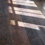 Antique Reclaimed Original Surface Oak Attic Flooring