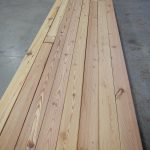Antique reclaimed heart pine flooring resawn from beams, natural grade.