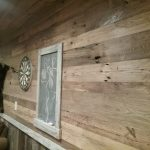 Antique Reclaimed American Wormy Chestnut Wall Paneling
