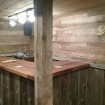 Antique reclaimed American Wormy Chestnut Weathered Barn Siding