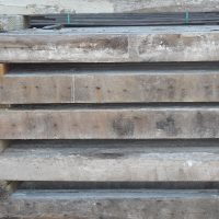Antique reclaimed old original surface circle sawn joist and rafters