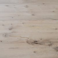 Antique reclaimed American wormy chestnut, resawn joist, rafter counter top