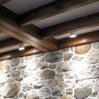 Antique Reclaimed Resawn Chestnut Joists and Rafters